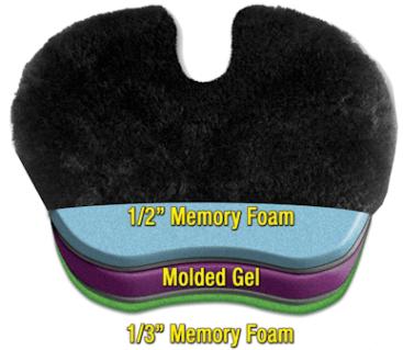 comfort max gel seat